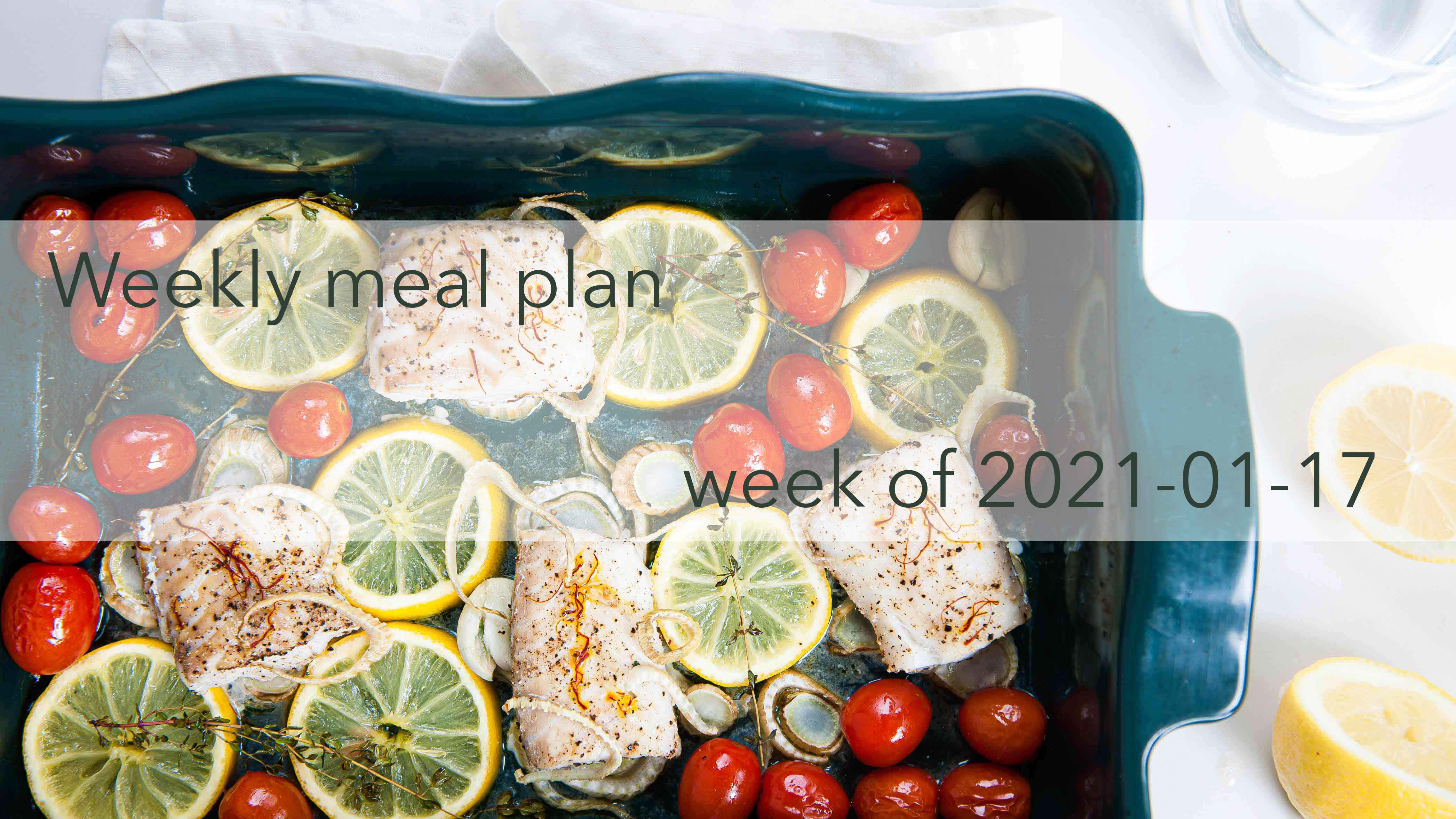 Weekly Meal Plan 2021-01-17 Cover Photo
