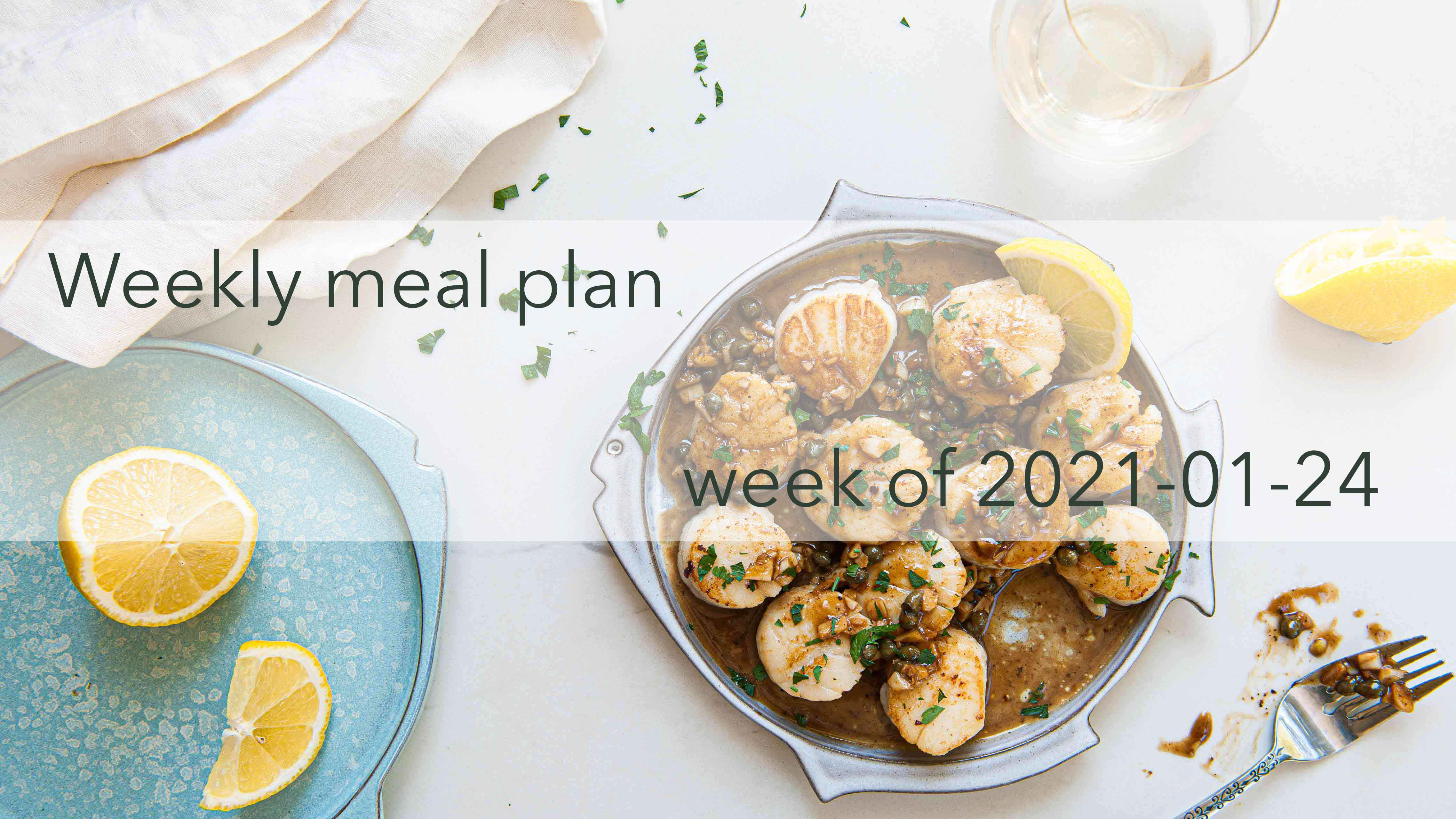 Weekly Meal Plan 2021-01-24 Cover Photo
