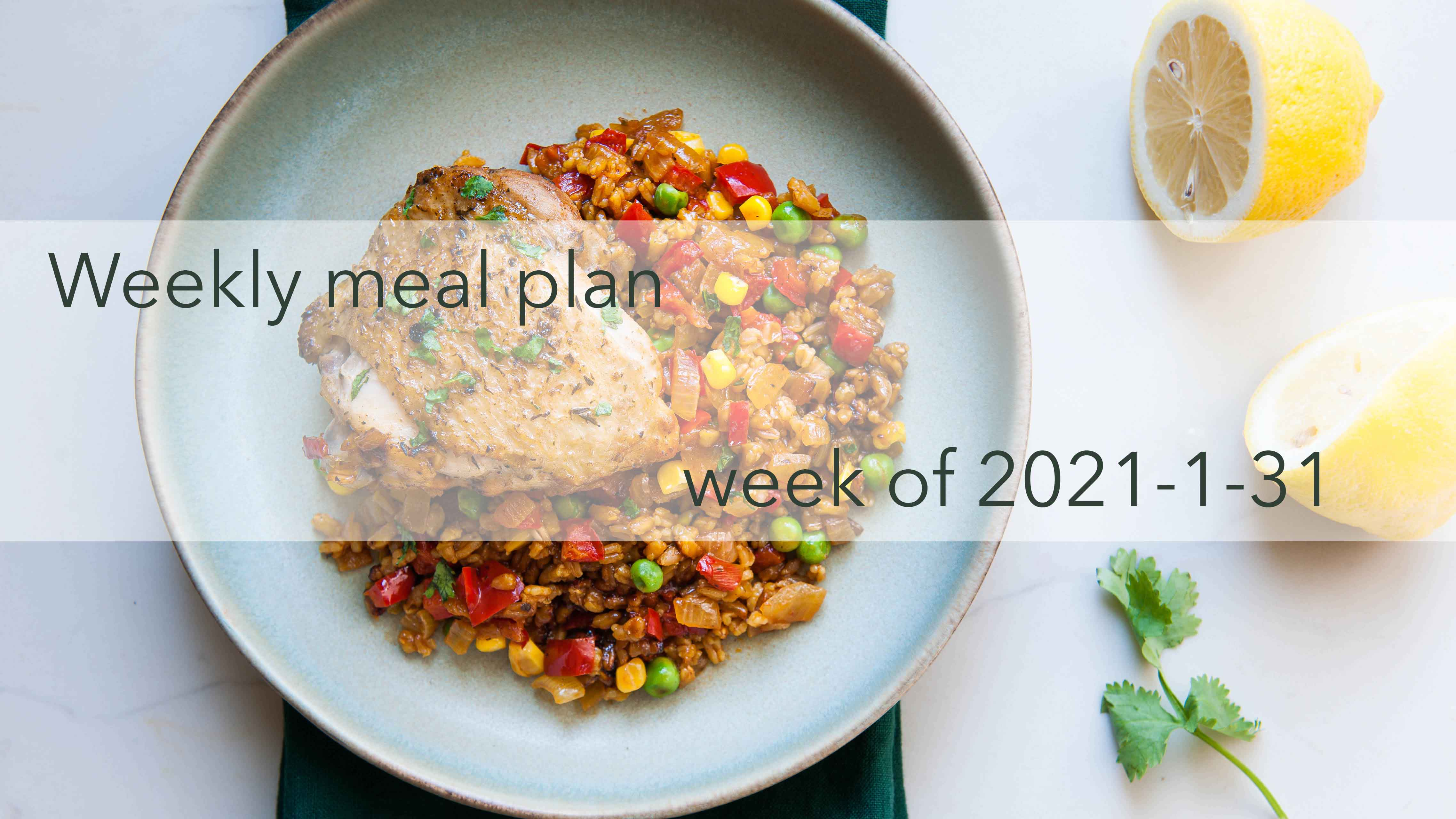 Weekly Meal Plan 2021-01-31 Cover Photo Optimized