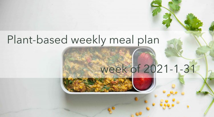 Weekly Meal Plan Vegan 2021-01-31 Cover Photo Optimized