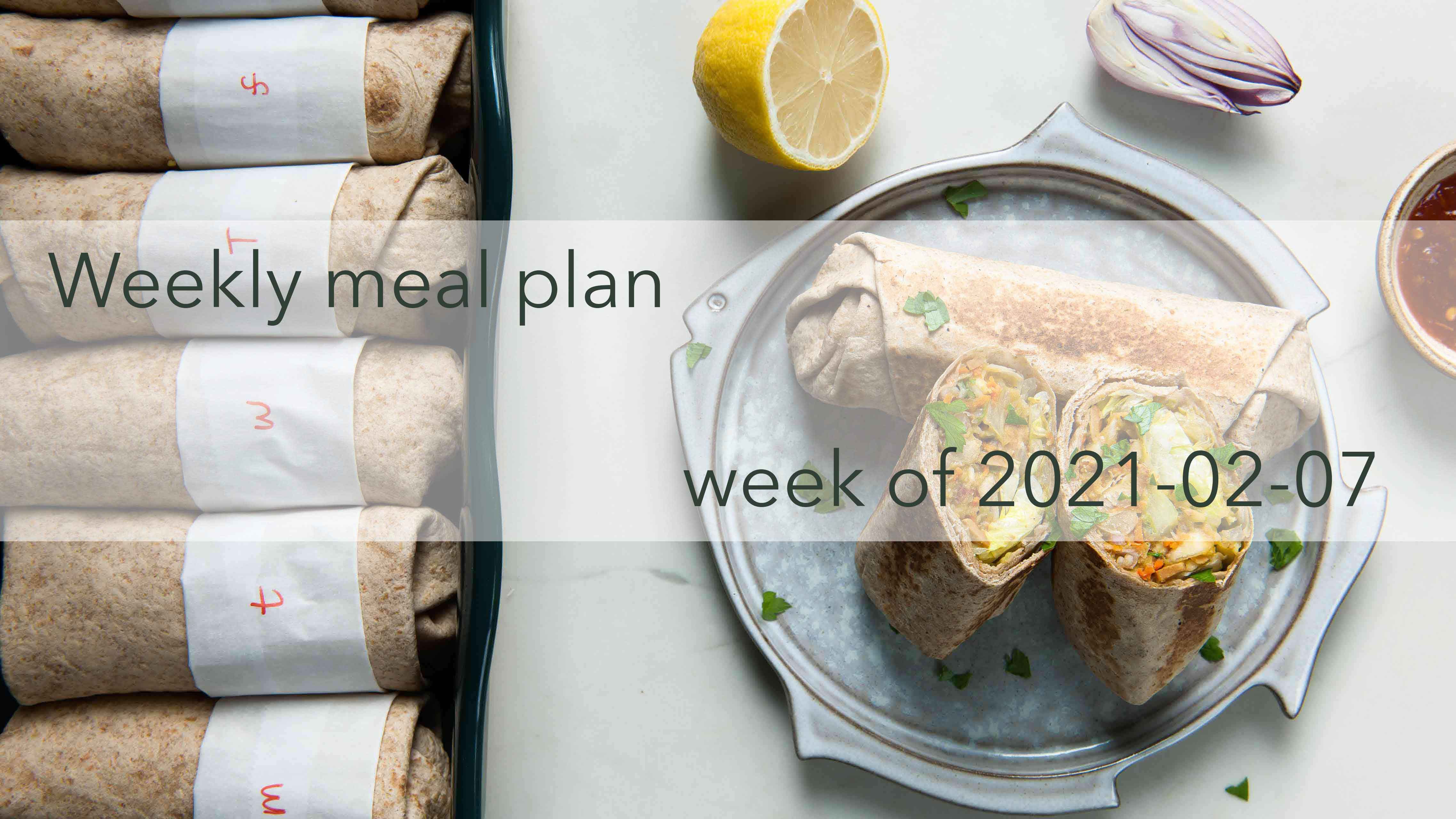 Weekly Meal Plan 2021-02-07 Cover Photo